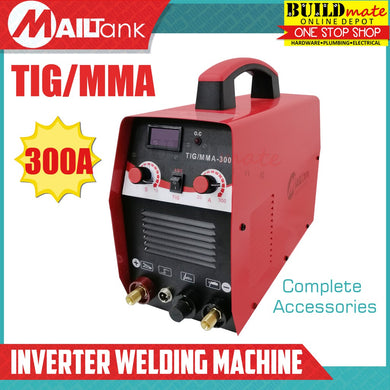 MAILTANK 300A TIG/MMA Inverter Welding Machine TIG •BUILDMATE•