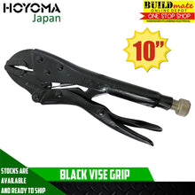 "Load image into Gallery viewer, HOYOMA Black Vise Grip 10"" LOW PRICE"