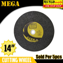 "Load image into Gallery viewer, MEGA 5PCS Cutting Wheel Cut Off Blade 14"" •NEW ARRIVAL!•"