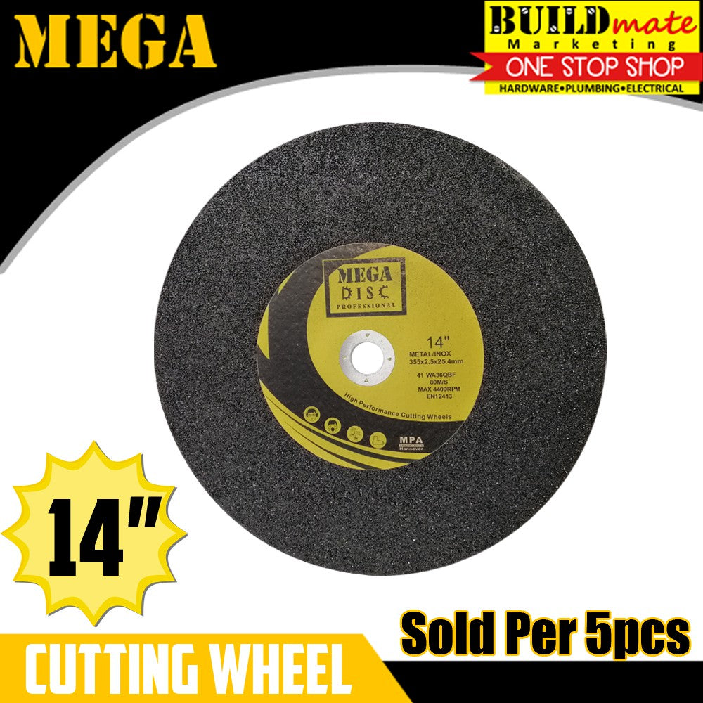 MEGA 5PCS Cutting Wheel Cut Off Blade 14