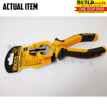 "Load image into Gallery viewer, INGCO Combination Pliers Cr-V 6"" 160mm HCP28168"