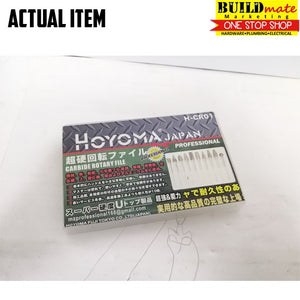 Hoyoma Carbide Rotary File H-CR01 10pcs/SET