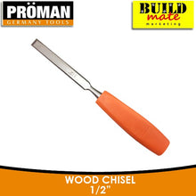 "Load image into Gallery viewer, Proman Wood Chisel 1/2"" •BUILDMATE•"
