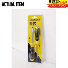 Load image into Gallery viewer, STANLEY Cushion Grip Magnetic Tip Screwdriver 2PCS/SET 66670