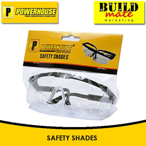 POWERHOUSE Safety Shades Glasses Eye Cover Protector •BUILDMATE•