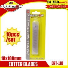 Load image into Gallery viewer, CRESTON Cutter Blades 10PCS/SET 18x100mm CRT-110