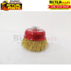 "PROBUILD Cup Brush CRIMPED/TWISTED 3"" M10"