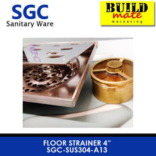 Load image into Gallery viewer, SGC Floor Drain Strainer SGC-SUS304-A13