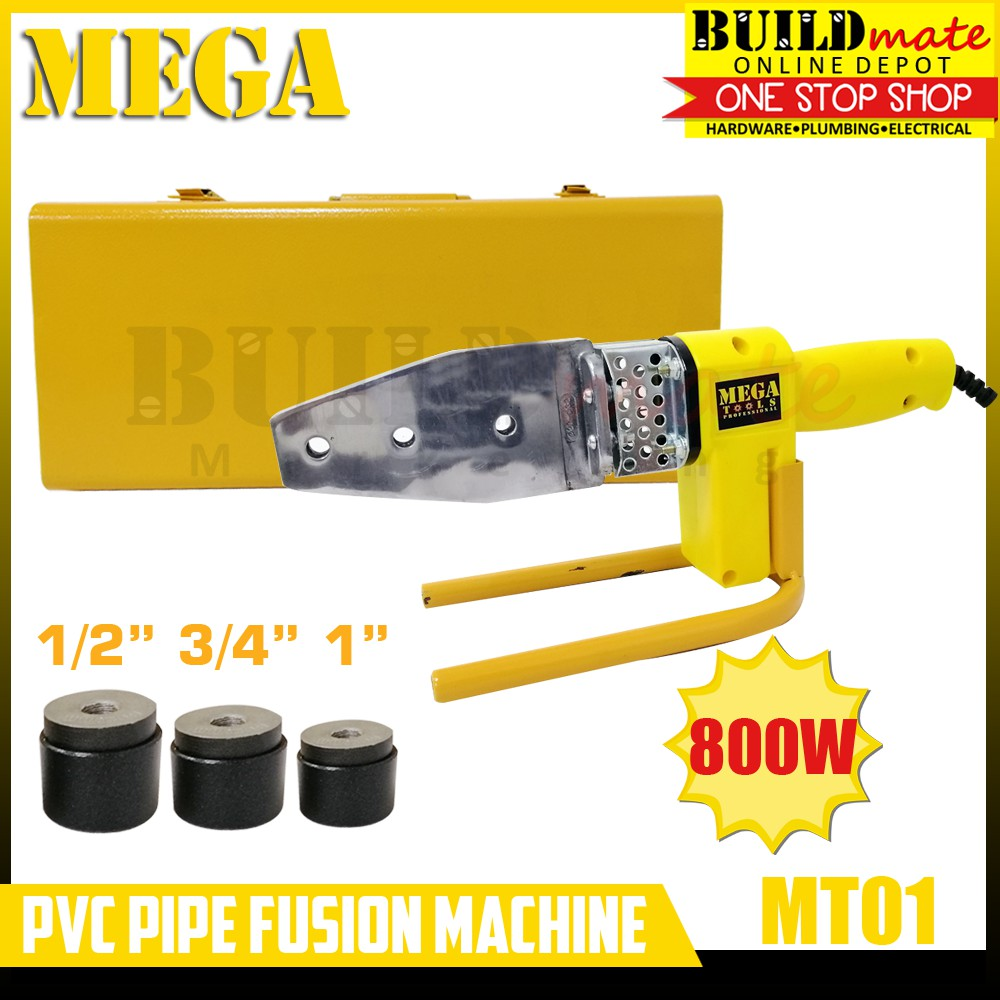 MEGA PVC Pipe Fusion Machine 800W 1/2