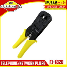 Load image into Gallery viewer, CRESTON Telephone / Network Pliers CCTV LAN FI-1820