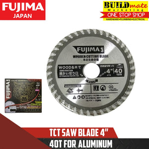 "Fujima TCT Saw Blade 4"" for Aluminum 40T"