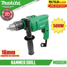Load image into Gallery viewer, MAKITA MT COMBO Angle Grinder M0910M & Impact Drill M0801M +FREEDISC&GLOVES