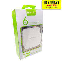 Load image into Gallery viewer, Bavin USB 6 Port extension cord Auto ID 2.0 Quick Charge