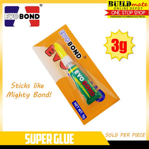 EVO BOND 1PC Super Glue 3g Sticks Like Mighty Bond