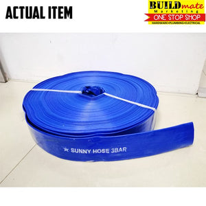 "SUNNY 2"" Duct Suction Flat Hose 10 METERS"