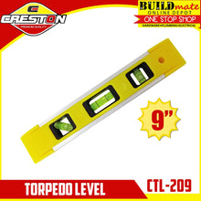 "Load image into Gallery viewer, CRESTON Torpedo Level 9"" Magnetic Base CTL-209"