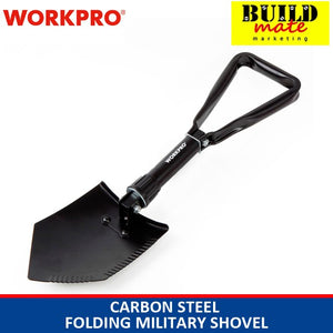 WORKPRO Carbon Steel Folding Military Shovel