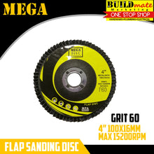 "Load image into Gallery viewer, Flap Sanding Disc 4"" GRIT 36/60/80/100/120"