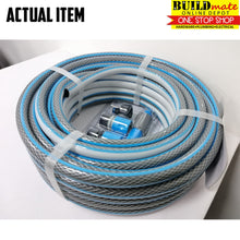 "Load image into Gallery viewer, CRESTON 1/2"" PVC Garden Hose w/Nozzles 15Meter CW-9015"