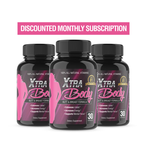 XtraBody Vitamins Discounted Monthly Subscription