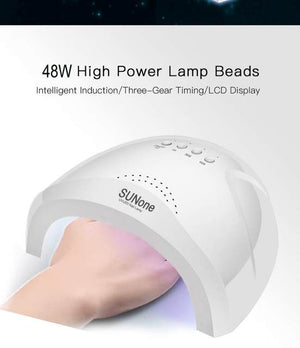 48W UV Lamp Gel Nail Dryer