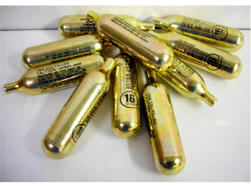 16 gram CO2 Cartridges (10ct)