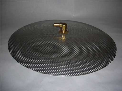 "Domed False Bottom 12"" Stainless"