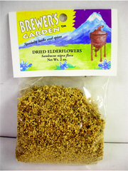 Dried Elderflowers 2 oz.
