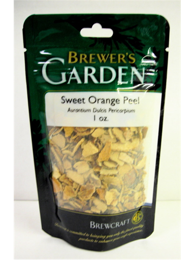Sweet Orange Peel 1 oz.