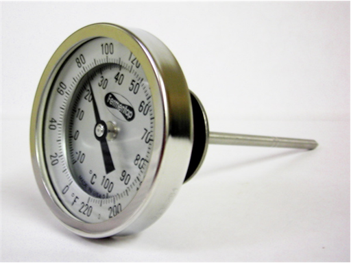Weldless Thermometer 6""