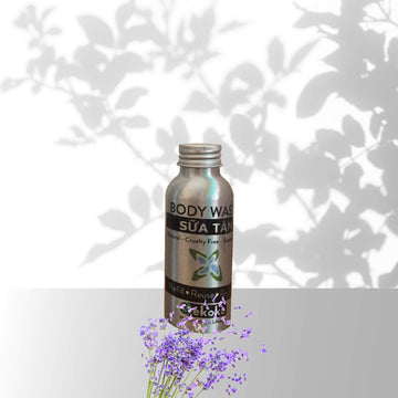 Natural body wash - Lavender - 100 ml travel size