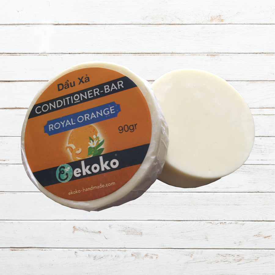 Dầu Xả bánh, Hair conditioner bar Royal Orange 90g