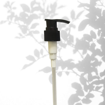 Vòi bơm 20mm - Bottle pump black 20mm - For ALU only!!!