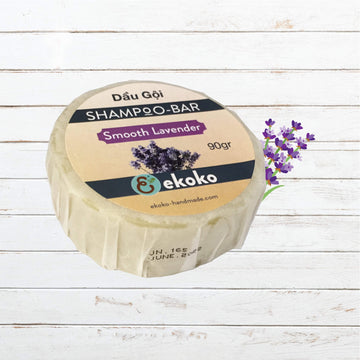 Shampoo bar Smooth Lavender 100g