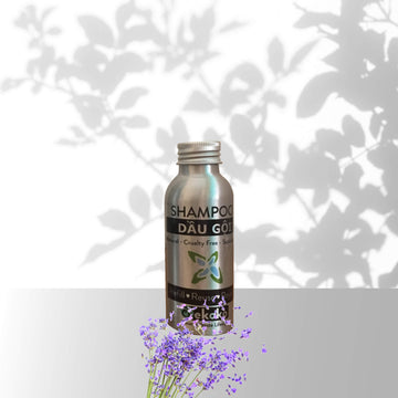 Natural Shampoo - Smooth lavender - 100 ml travel size