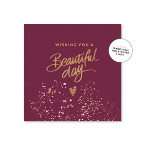 Beautiful Day - Card