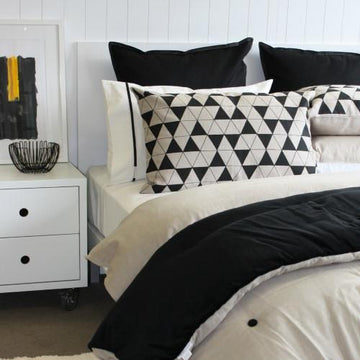 Duvet Black + Natural - Maissone