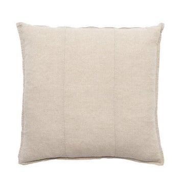 Luca Linen Square Cushion Natural - Maissone