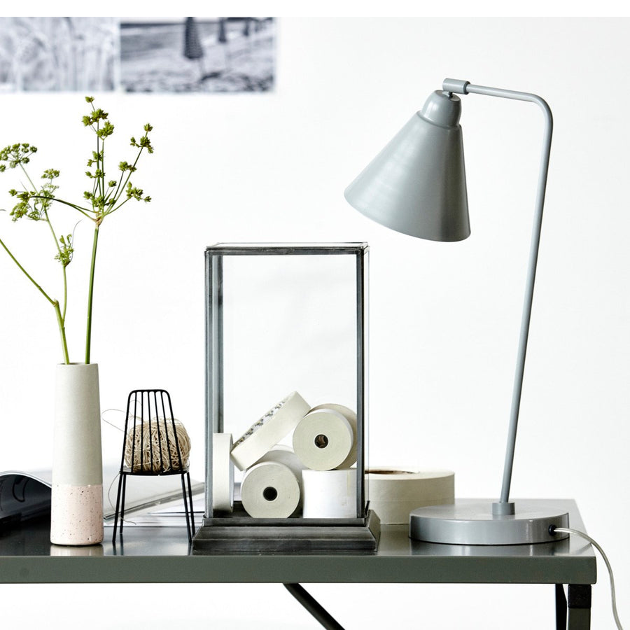 Game Table Lamp Grey + White - Maissone