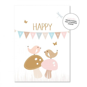 Bunting Birthday - Card
