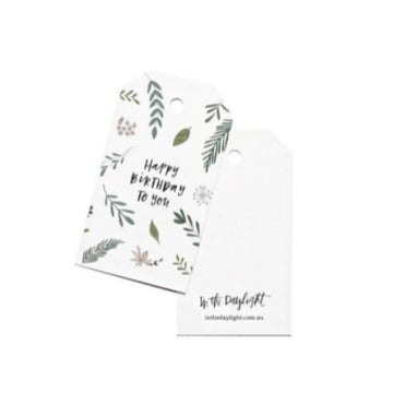 Botanic Birthday Gift Tag - Maissone