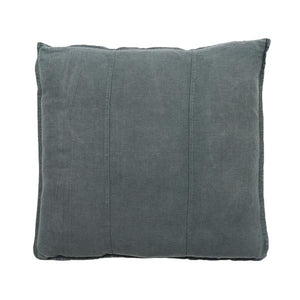 Luca Linen Square Cushion Slate - Maissone