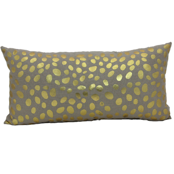 Cushion Gold Pebbles - Maissone