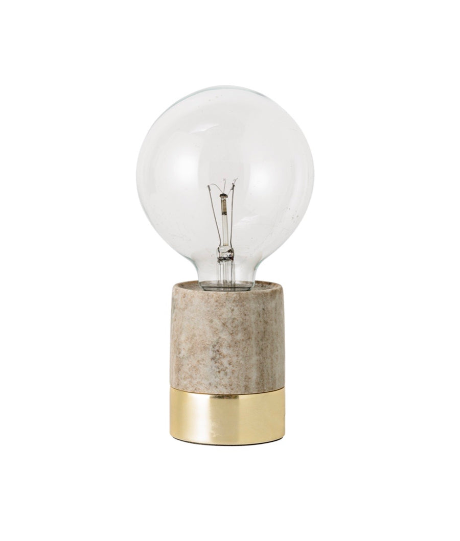 Table Lamp Marble Natural