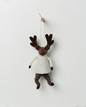 Narnia Hanging Rudolph with Jumper