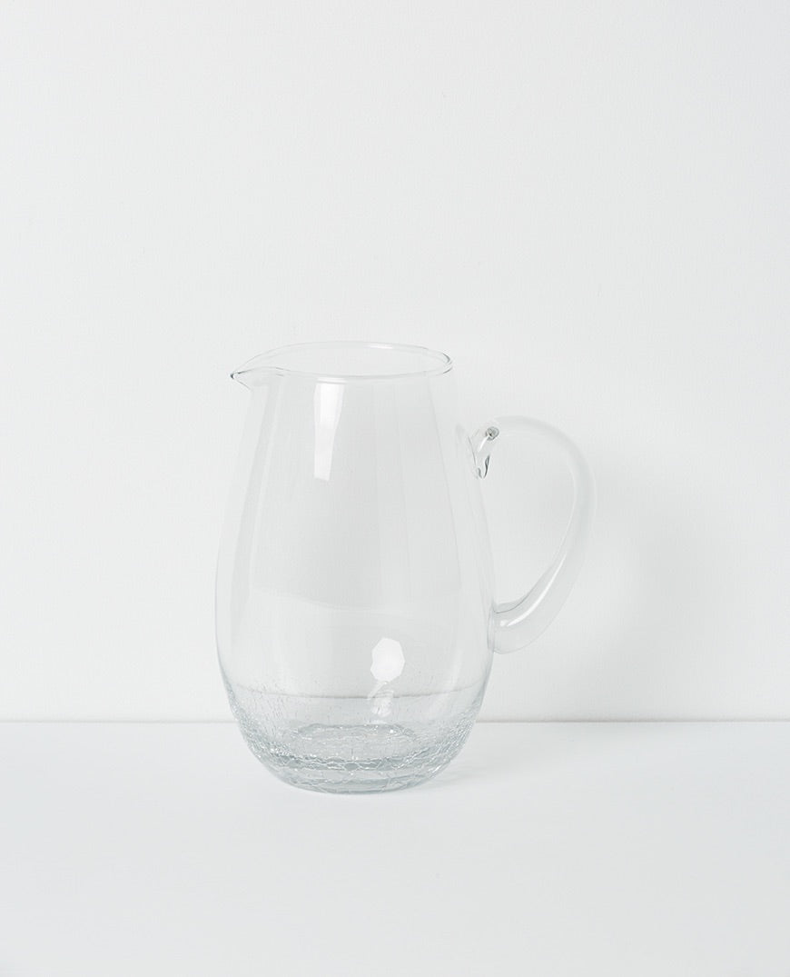 Crackle Water Jug