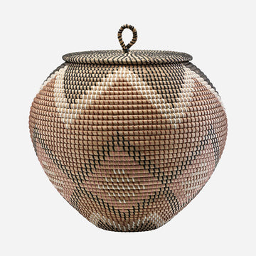 Tau Woven Baskets with Lid