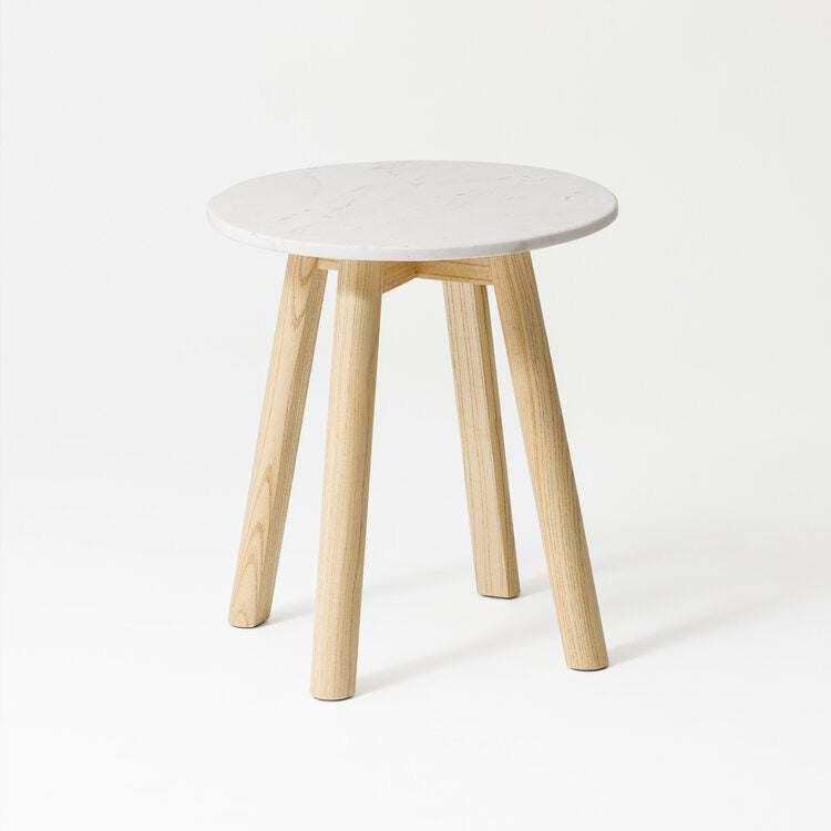 Engle  - Marble Side Table
