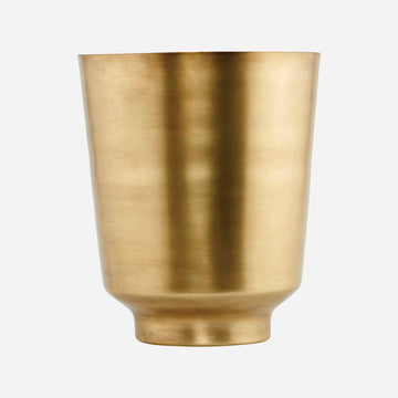 Planter Oli Brass Plated