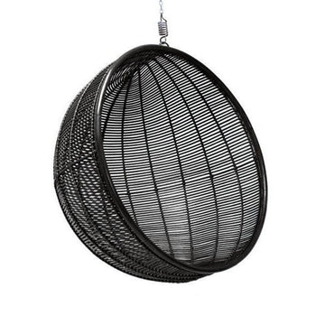 Rattan Hanging Bowl Chair